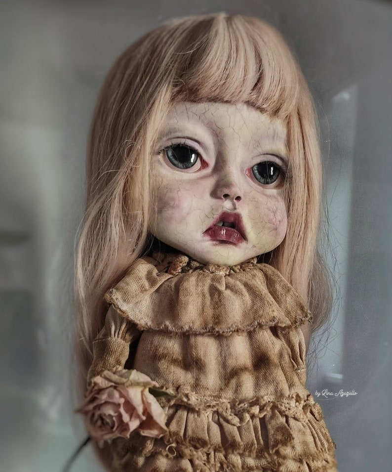 Anna SOLD OUT Exlusive collection doll Blythe Doll OOAK image 0