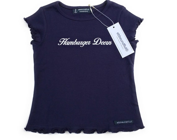 Shirt Hamburger Deern - Girls Shirt, Hamburger Deern, T-Shirt for Girls, Hamburg Gift
