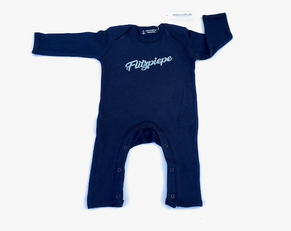 "Baby romper ""Flitzpiepe"" - Fair Trade - romper, pyjamas, all-in-one, playsuit, rompasuit, onesie, baby pyjamas, Berlin"