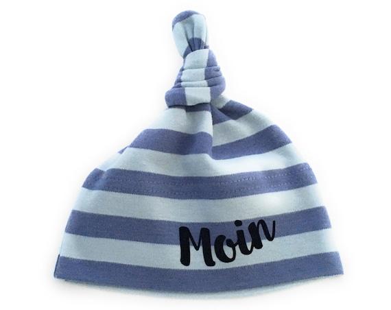 Maritime Baby Hat Moin - Fair Trade & Organic - Knot Hat, Baby Hat, Baby Gift at Birth, Hamburg Gift