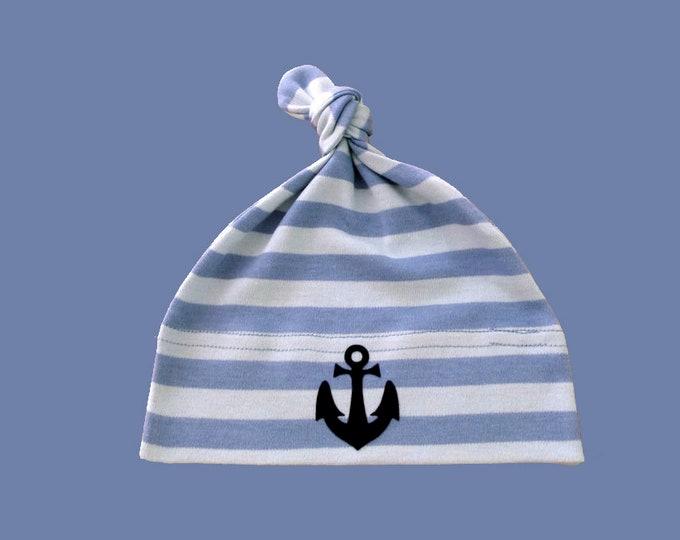 Maritime Baby Hats Anchor-Hamburg-knot cap-fair-gift for birth, baby hats, anchor, Hamburg gifts, gift for birth