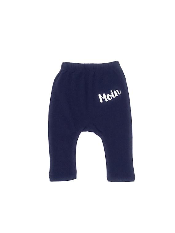 Maritime Baby Pants dark blue Moin - Fair Trade & Organic - Baby Gift for Birth, Baby Pants Moin, Hamburg Baby Gift, Moin Moin