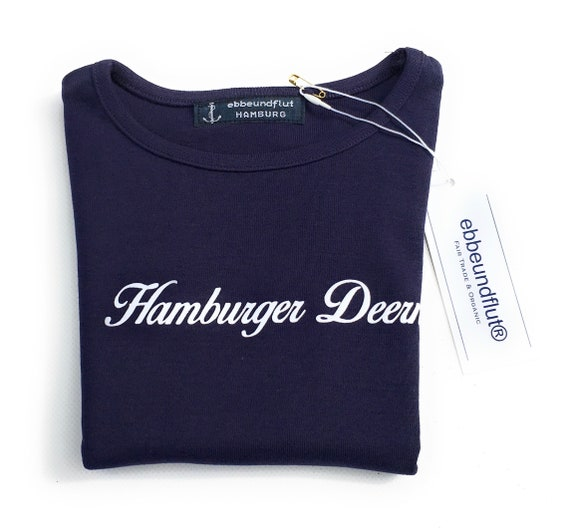 Hamburger Deern T-Shirt - Girls Shirt, Hamburger Deern, T-Shirt for Girls, Hamburg Gift, Hanseatic