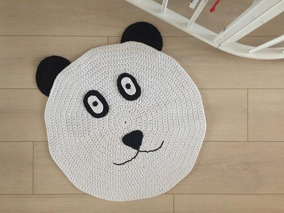 Häkeln Sie Panda Bär Teppich Häkeln Sie Baby Teppich Etsy