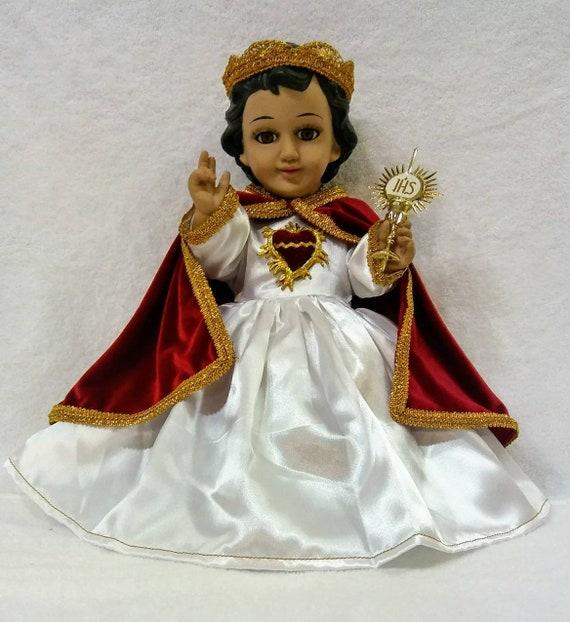 Baby Jesus Outfit Sacred Heart And Accessories Vestido De Niño Dios Sagrado Corazon Y Accesorios