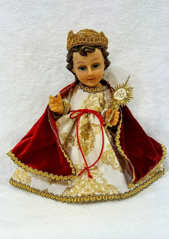 Baby Jesus Dress Christ The King And Accessories Vestido De Niño Dios Cristo Rey Y Accesorios