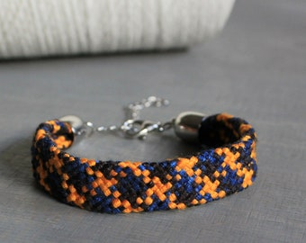 Braided bracelet   SEIDE   round braided   24 strands