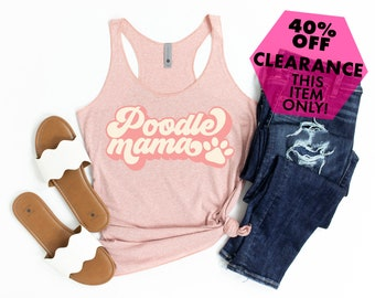 Poodle Namaste T-Shirt  Women/'s Tee  Men/'s Tank  Racer Back Tank  Kids  Hoodie  Poodle Owner Gifts  Yoga with my Dog