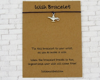 wizard genie lamp Genie in bottle gift gift for her Personalised lamp anklet gift for friend Magic lamp anklet Aladdin/'s lamp anklet