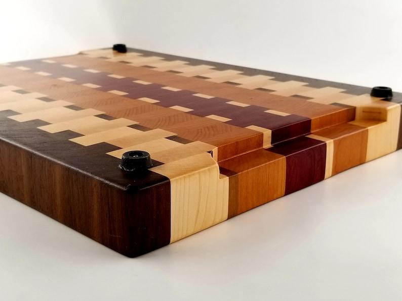 Personalized Wood Cutting Board Wedding Butcher Block Gift Father End Grain Chopping Block Husband Chef Birthday