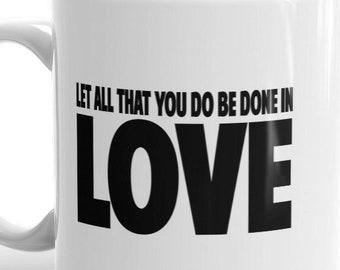 All the love mug   Etsy