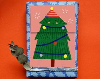 Folding card   Great Christmas     Christmas card   postcard Christmas Card   Merry Christmas