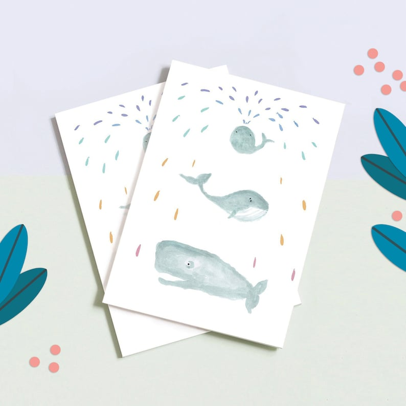 Remaining stock  Notebook Whales  Notebook A5  Bullet image 0