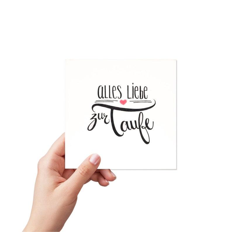 handmade greeting card: baptism card image 0