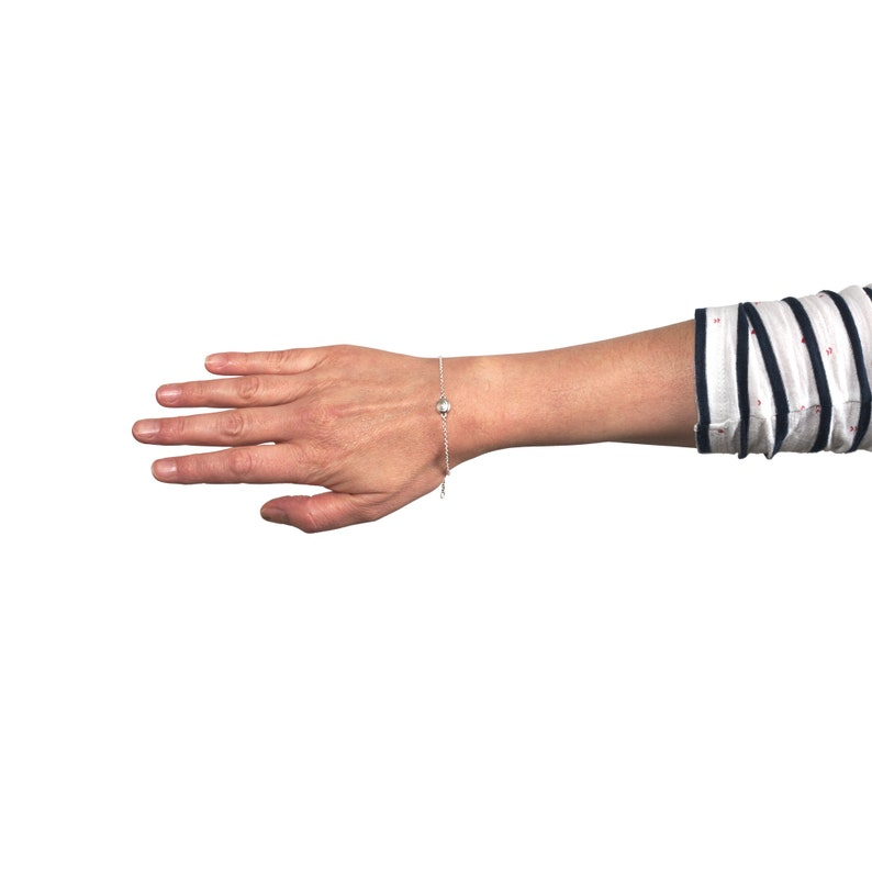 bracelet nautilus shell  sterling image 0