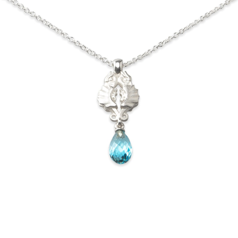 necklace with pendant: phoenix  sterling image 0
