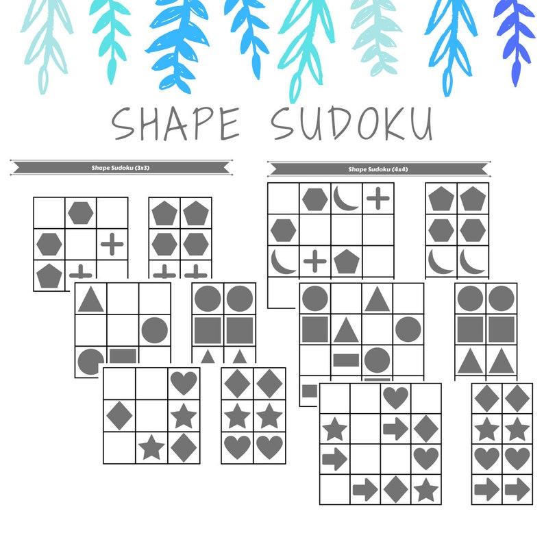 photo about 4x4 Sudoku Printable identified as Printable Form Sudoku Things to do
