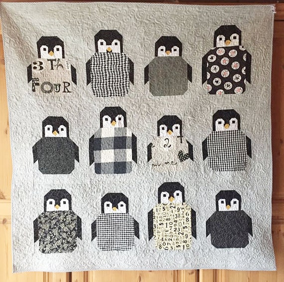 Pinguin Quilt