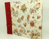 "Photo and scrapbook ""Red Klchs"" for recipes, photos, verses and anything that can be collected in a book"
