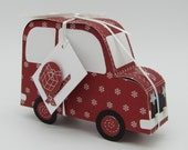 "Gift package ""floter Flitzer Christmas,"" the car for sweets and cash gifts"