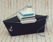 "Gift package ""ship,"" for cash gifts to cruise, congratulations on the captain's patent or as a reminder of a boat trip"