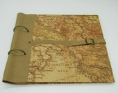 "Note-and collection book ""Southeast Europe"" for recipes, photos, verses and anything that can be collected in a book"