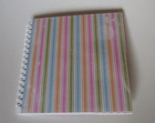 "Mini album ""Schön wars"" for photos, recipes and all collectible, upcycling items from a calendar"