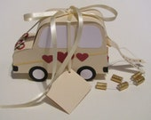 "Gift wrapping wedding car ""floter wedding flicker,"" ideal for the original cash gift"