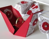"Presentation box ""tadaa!,"" the extravagant way to congratulate or present a piece of jewelry"