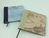 "Notebook ""Aviation,"" hand-tied, for all thoughts, verses, sayings, sketches to be captured."