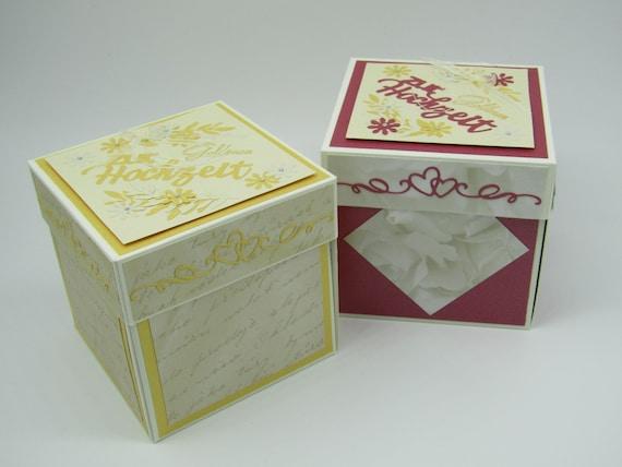 Explosionsbox Goldene Hochzeit