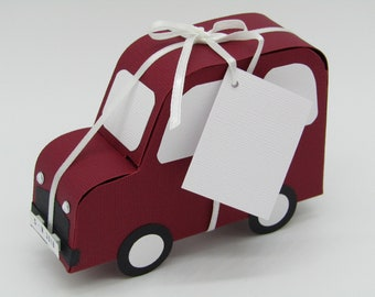 """Gift packaging """"Flotter Flitzer"""", the car for money gifts to the driver's license or fuel vouchers"""