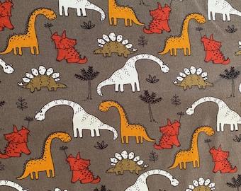 Sweat fabric with dinos