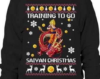 Anime Christmas Sweater Etsy