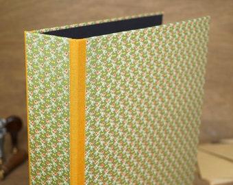 "Design folder ""Poldi"", green folder, handmade"