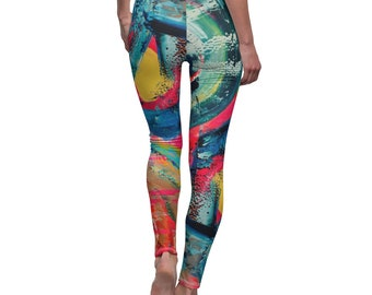Fashion leggings for her, unique gift for her, yoga leggings for women plus size, womens shapewear, festival clothing women, womens tights