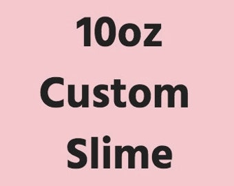 Slime etsy 10oz custom slime white glue ccuart Choice Image