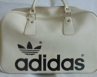 46ecf0448d79 Original Adidas Peter Black Bag 1970s Vintage   Northern Soul