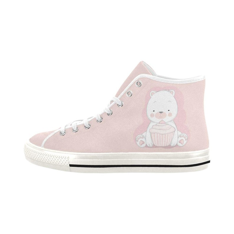 36a5c2eb5b22a Ddlg shoes - Kawaii shoes - Pastel shoes - Ddlg pink Canvas Shoes - Yami  kawaii - DDLG clothing - ABDL clothing
