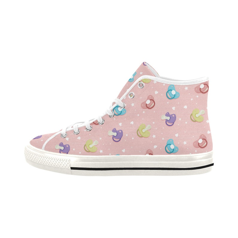581347a240d9f ABDL - Ddlg - Kawaii shoes - Abld Pacifier - Pink Canvas Shoes - Yami  kawaii - ABDL clothing - DDLG clothing