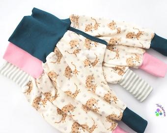Organic split pants, slit pants, stop pants diaper-free different sizes
