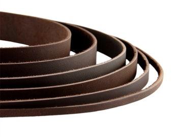 Lederband flach 5x2mm echtes lederband für Schmuckherstellung Lederriemen 1m