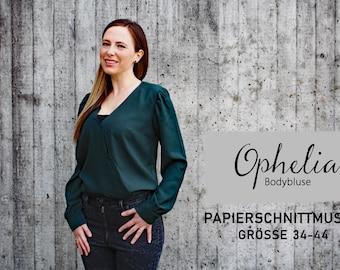 Body blouse Ophelia / Paper cut pattern size 34-44