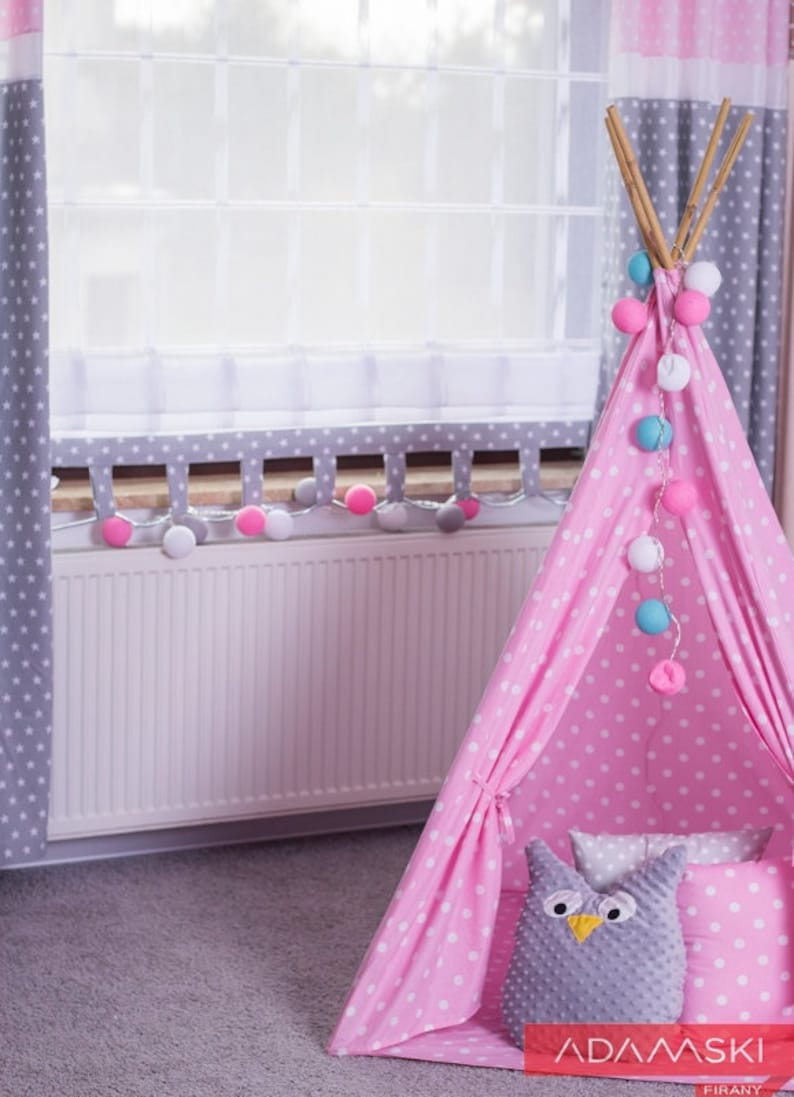 Kids Roller Shutter Pink And Grey