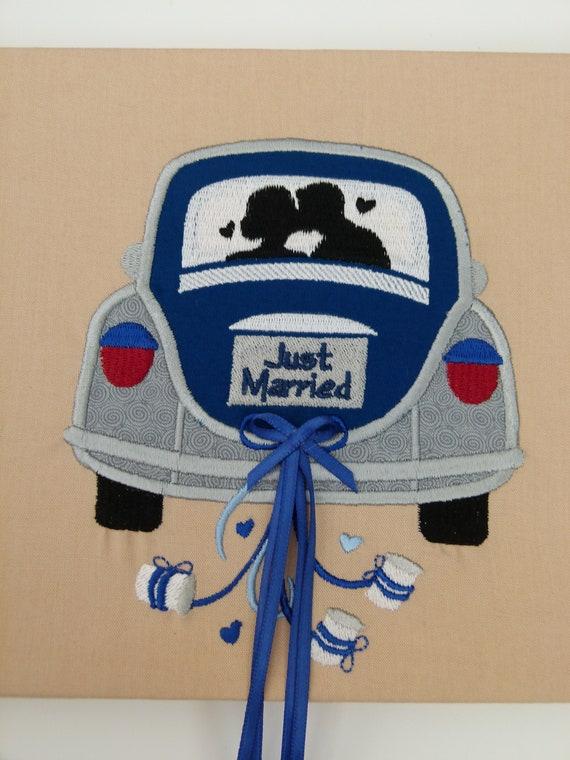 Geldgeschenk Hochzeitsgeschenk Auto Just Married Etsy