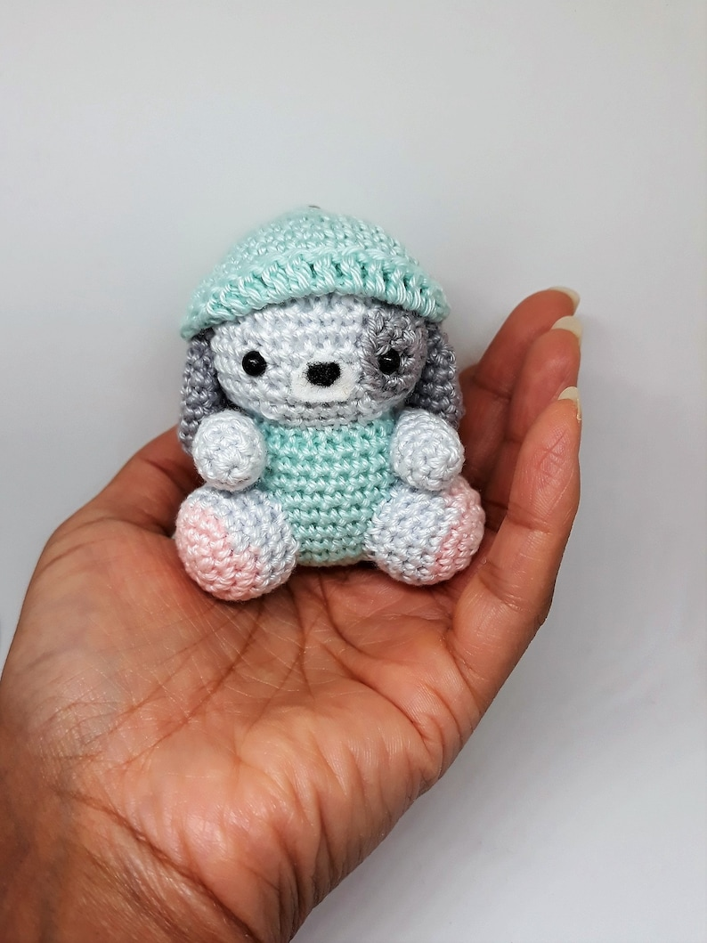 Mini Penny Keychain Amigurumi Pattern — BuddyRumi | 1059x794