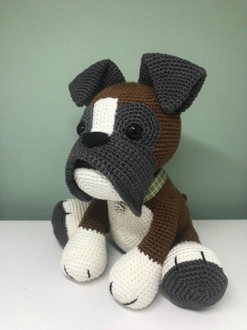 Crochet pattern amigurumi Boxer. Crochet your own amigurumi image 0