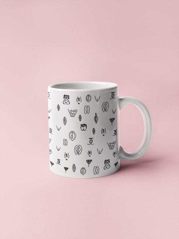 Vulva Mug for Vagina Fans