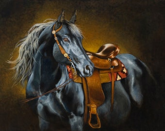 Born Beautiful -- Canvas Giclee' Print by Victor Blakey