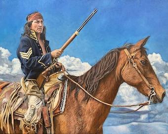 Apache Sky -- Canvas Giclee' Print by Victor Blakey